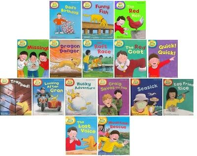 NEW SET of 16  x OXFORD READING TREE ( Stage 2 4 5 6 ) PHONICS / STORIES