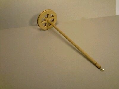 30g Hand Spindle Spindle 8cm x 30cm Oiled for Spiders from Wool Hand Spindle