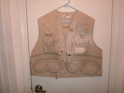 Halloween Costume Adult Size Xl Hunting Vest Woodfield