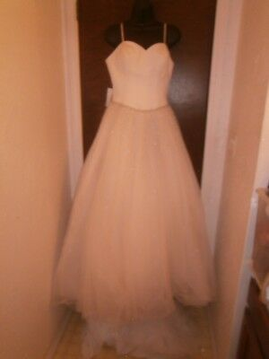 Halloween Costume Brittany collection Wedding Dress & Veil Size 8 Princess Syle