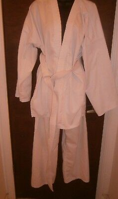 Halloween Costume Adult Cobra Kim Pacific Size 4 Gi White Judo Karate