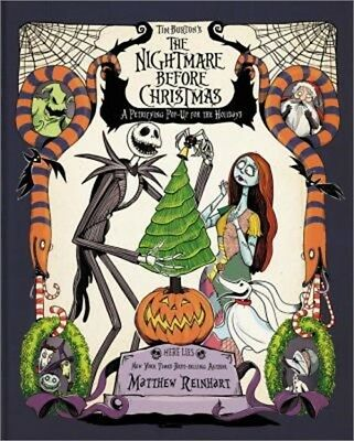 Tim Burton's the Nightmare Before Christmas Pop-Up: A Petrifying Pop-Up for the