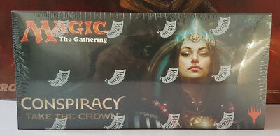 MTG Conspiracy Take the Crown, Booster Box *Factory Sealed* Magic The Gathering