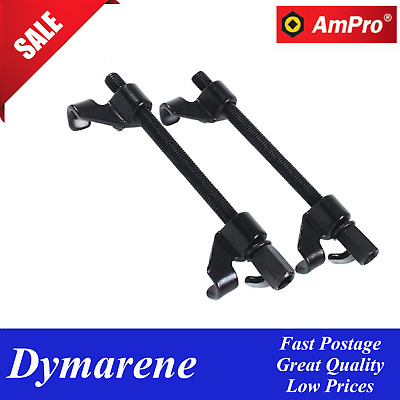 Set of 2 Coil Spring Compressor Clamp Heavy Duty Quality Car Truck Auto Tool