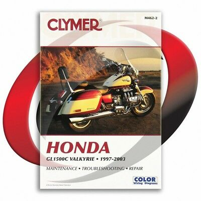 1997-2003 Honda GL1500C Valkyrie Repair Manual Clymer M462-2 Service Shop