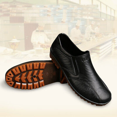 Chef Shoes In Kitchen.Men/Women Nonslip Safety Shoes Oil & Water Proof For Cook
