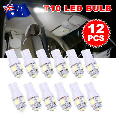 T10 LED 5050 SMD W5W Wedge Tail Side Parker Bulb Car Number Plate White Light
