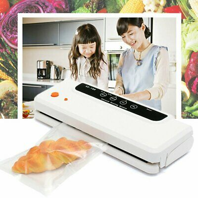Automatic Vacuum Food Sealer Machine Storage Packaging Saver 100pcs Free Bags