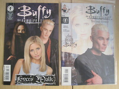BUFFY : 2 ONE-SHOTS with PHOTO COVERS : LOVER'S WALK (2001), LOST & FOUND (2002)