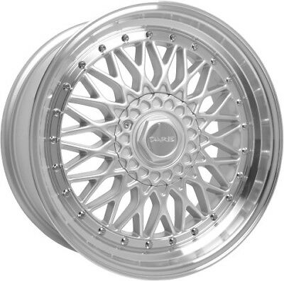 15 dare silver polished alloy wheels 4x100 fits bmw 3 series e30 vw 93 BMW M5 alloy wheels 17 dare dr rs silver polished lip for bmw m5 e34