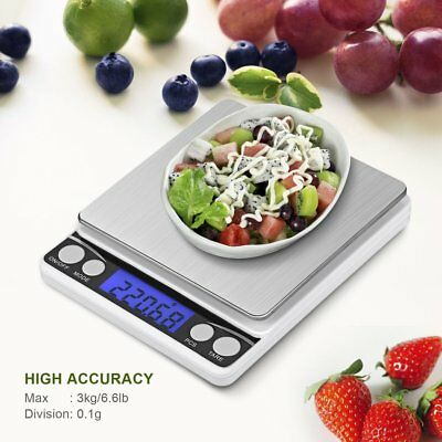 Multifunctional LCD Electronic Digital Scale 0.1G/0.01G Kitchen Weight Scales RY