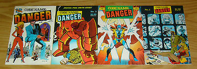 Codename: Danger #1-4 VF/NM complete series KEITH GIFFEN paul gulacy K. BAKER