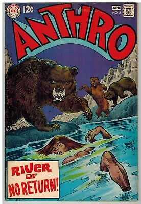 Anthro #5 1969 Dc Silver Age Nice!
