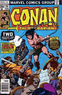 Conan the Barbarian #84 VF/NM; Marvel | save on shipping - details inside