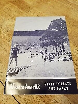 Massachusetts State Forests Parks Promo Booklet
