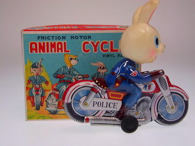 "GSMOTO  ""RABBIT ANIMAL CYCLE"" HAJI JAPAN, 13cm, FR OK, NEU/NEW/NEUFnBOX !"