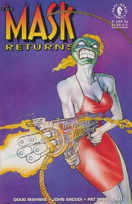 Mask Returns, The #3 VF/NM; Dark Horse   save on shipping - details inside