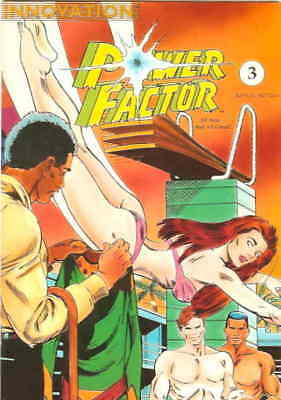Power Factor (2nd Series) #3 FN; Innovation | save on shipping - details inside