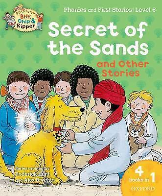 NEW OXFORD READING TREE x 4 Level 6 stores in 1   Phonics & first SECRET SANDS