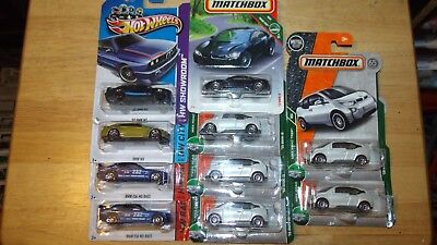 Hot Wheels Matchbox 2018 16 Bmw I8 15 I3 92 M3 M4 E36 M3 Race Lot