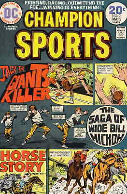 Champion Sports #3 VG; DC | low grade comic - save on shipping - details inside