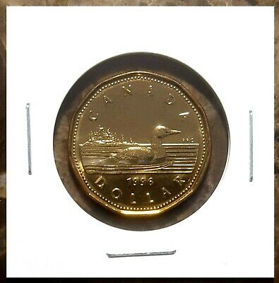 Canada 1996 Loonie BU UNC From Mint Roll!!
