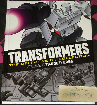 transformers, definitive g1 collection, volume 6, graphic novel, 1 book, used
