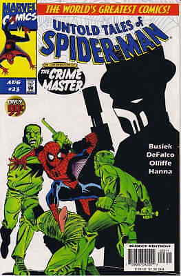 Untold Tales of Spider-Man #23 VF/NM; Marvel   save on shipping - details inside