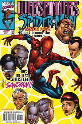 Webspinners: Tales of Spider-Man #7 VF/NM; Marvel   save on shipping - details i