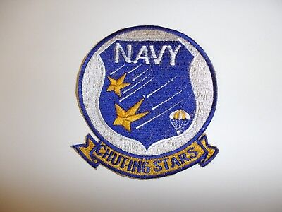 e1299 US Navy 1970's Naval Parachute demonstration team Chuting Stars IR14B