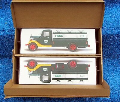 (Lot Of 2) 2018 Hess 85Th Anniversary 1St Hess Truck-Limited Edition-Sold Out