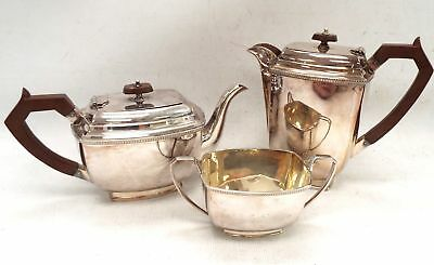 Vintage SILVER PLATED Tea Set including Coffee Pot S&W EPNS - W22