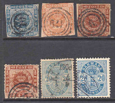 Denmark First Issues Collection Lot You Identify And Grade $$$$$$$
