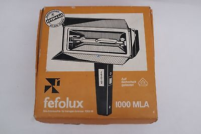 Very Strong  Fefolux 1000MLA + Halogen Light 1000W Unused With Box