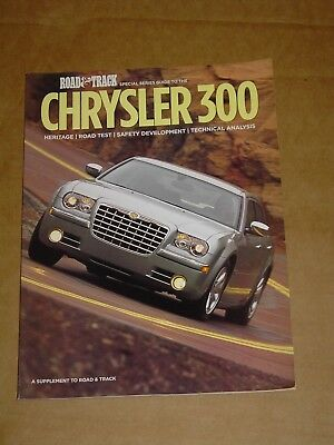 2004 Road & Track Special Series Guide Chrysler 300 Brochure Mint! 66 Pages