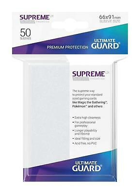 50 Ultimate Guard Supreme Ux Standard Size Sleeves - Frosted