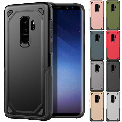 For Samsung Galaxy J8 J6 J4 2018 Shockproof Dual Layer Rubber Bumper Case Cover