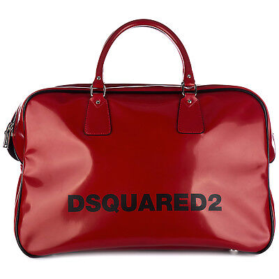 Dsquared2 Travel Duffle Weekend Shoulder Bag New Seventies Duffle Ross 915