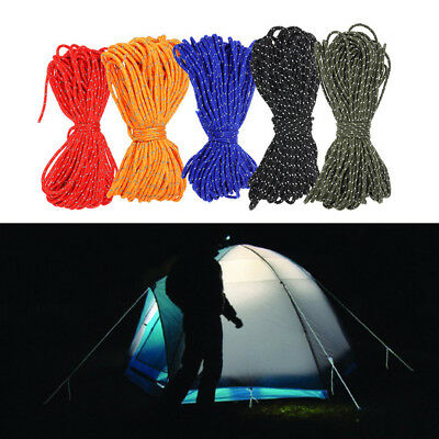 1PC Outdoor Multifuncational Reflective Safety Rope Survival Climbing Tools NEW