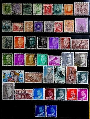 Spain: Classic Era To 80's Stamp Collection