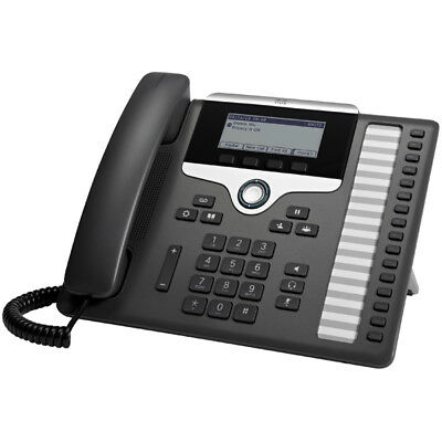 Cisco 7861 Black, Silver Wired handset 16lines LCD IP phone