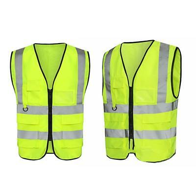 Safety Reflective Vest Security Visibility Jacket For Construction Traffic/Ware