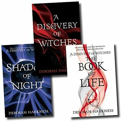 Deborah Harkness Collection 3 Books Set Book of Life Discovery of Witches NEW