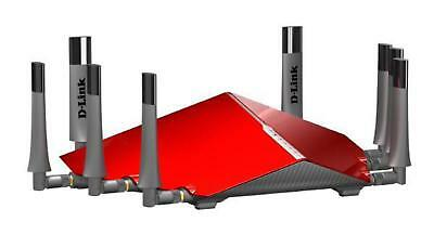 D-LINK The DIR-895L AC5300 MU-MIMO Ultra Wi-Fi Router lets you easily connect, c