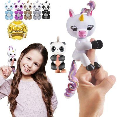Fingerlings Panda Unicorn Gigi Fingerling Interactive Baby Children Kids Toy