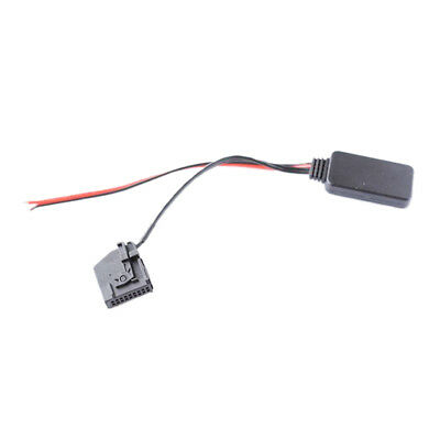Car Wireless Bluetooth Receiver Aux Adapter Cable For Skoda Octavia II 2005