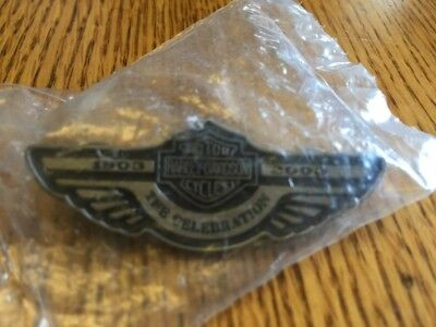 HARLEY-DAVIDSON 100th ANNIVERSARY THE CELEBRATION 1903 - 2003 PIN - New in Pkg