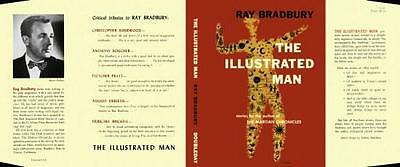 Ray Bradbury THE ILLUSTRATED MAN facsimile dust jacket for US first edn book