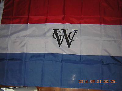 Flag of Dutch West India Company WIC 1621-1792 Geoctroyeerde Westindische Ensign