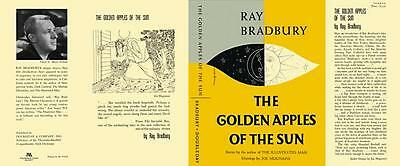 Ray Bradbury GOLDEN APPLES OF THE SUN facsimile dust jacket for first edn book